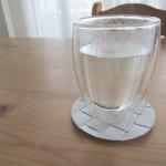 パヴィーナダブルウォールグラス、すごくいいよ。