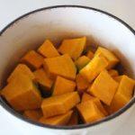 かぼちゃのペーストの作り方。