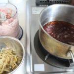 鶏そぼろの作り方。
