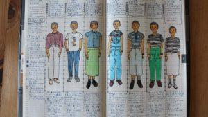 『しましま』がドレスコードだったジブン手帳。