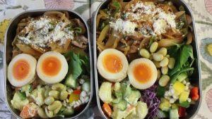 お弁当箱4種類使った今週のお弁当たち。