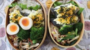 さわらの菜種焼き弁当などの今週のお弁当。